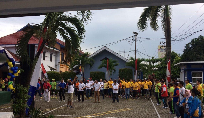 Jalan Sehat Di Kanwil Ditjen Perbendaharaan Kalimantan Timur