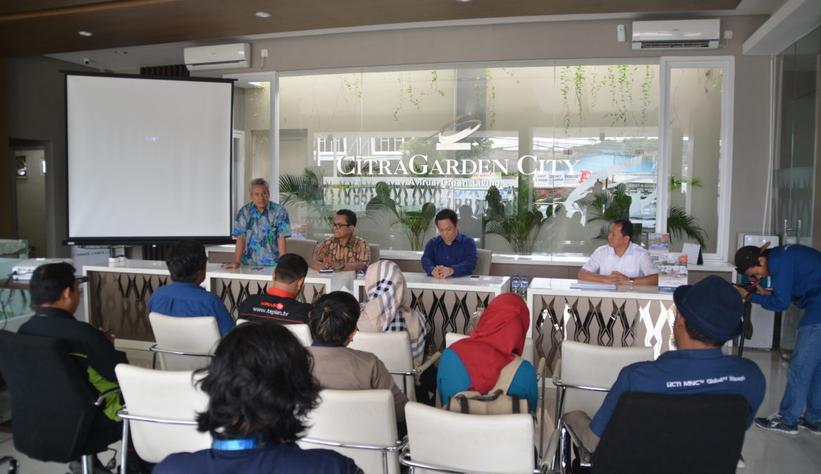Press Conference Pre-Launch Cluster Tropical Valley